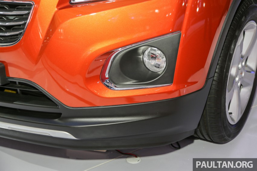 IIMS 2016: Chevrolet Trax – turbo-powered HR-V rival Image #474092