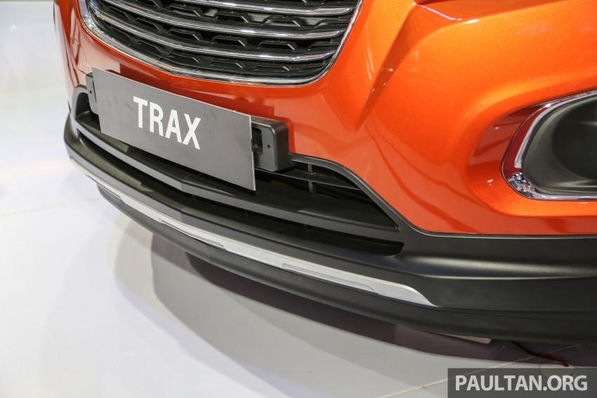 IIMS 2016: Chevrolet Trax – turbo-powered HR-V rival Image #474093