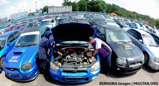 Over 1 500 Cloned Cars From Singapore Nabbed By Jpj