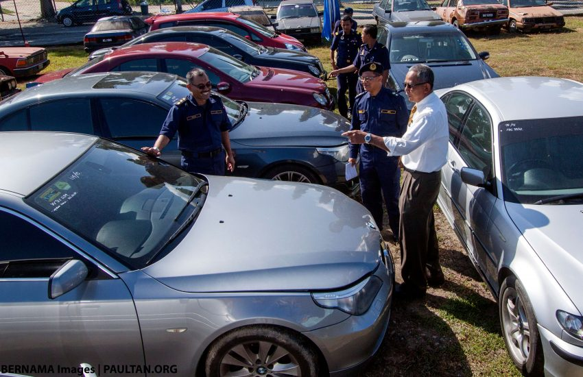 Over 1,500 cloned cars from Singapore nabbed by JPJ Image #478007
