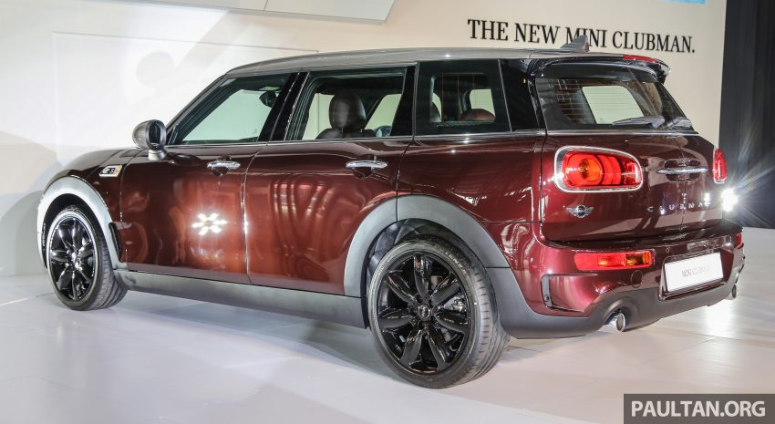 F54 MINI Clubman launched in Malaysia – six doors, 136 hp Cooper and 192 hp Cooper S, RM204k-RM254k Image #482021