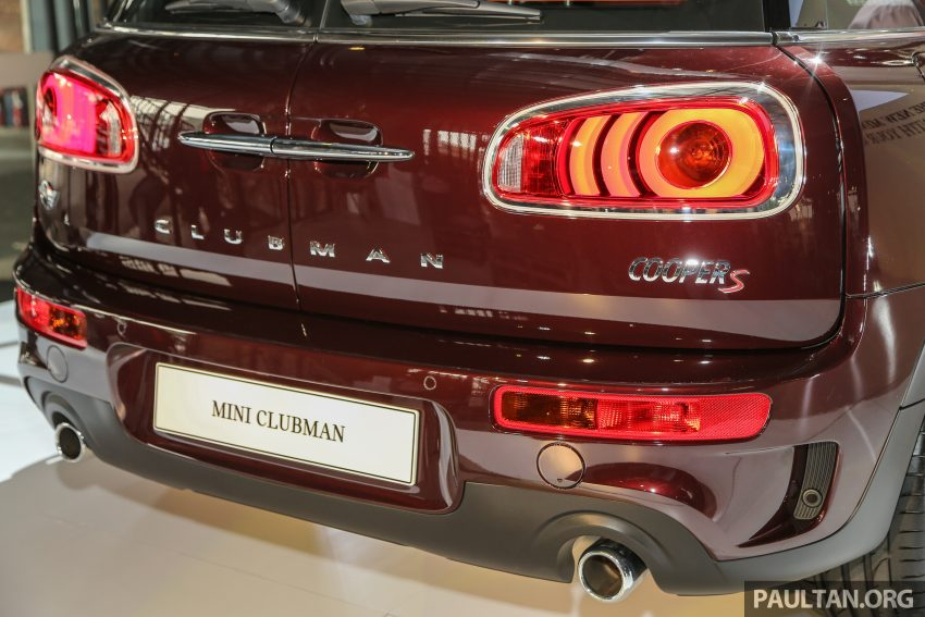 F54 MINI Clubman launched in Malaysia – six doors, 136 hp Cooper and 192 hp Cooper S, RM204k-RM254k Image #482022