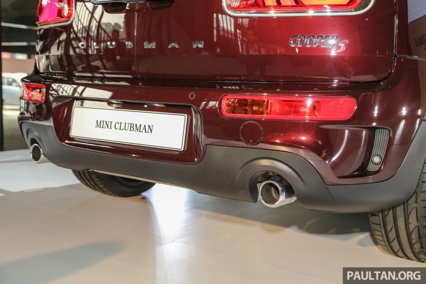 F54 MINI Clubman launched in Malaysia – six doors, 136 hp Cooper and 192 hp Cooper S, RM204k-RM254k Image #482027