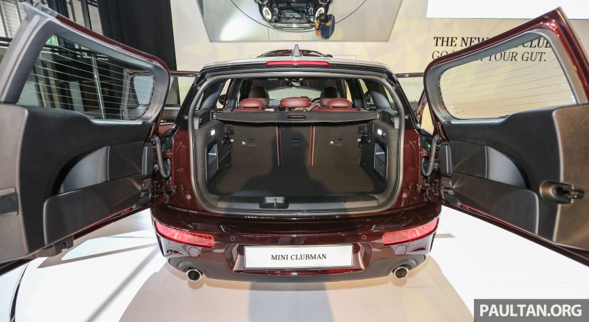F54 MINI Clubman launched in Malaysia – six doors, 136 hp Cooper and 192 hp Cooper S, RM204k-RM254k Image #482083