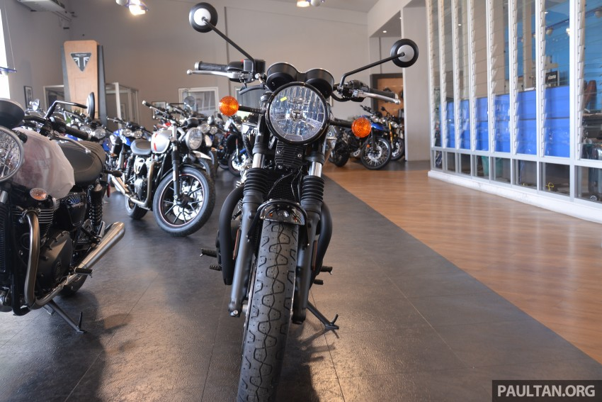 2016 Triumph Thruxton R (RM91,900) and Bonneville T120, T120 Black (RM79,900) arrive in Malaysia Image #474408