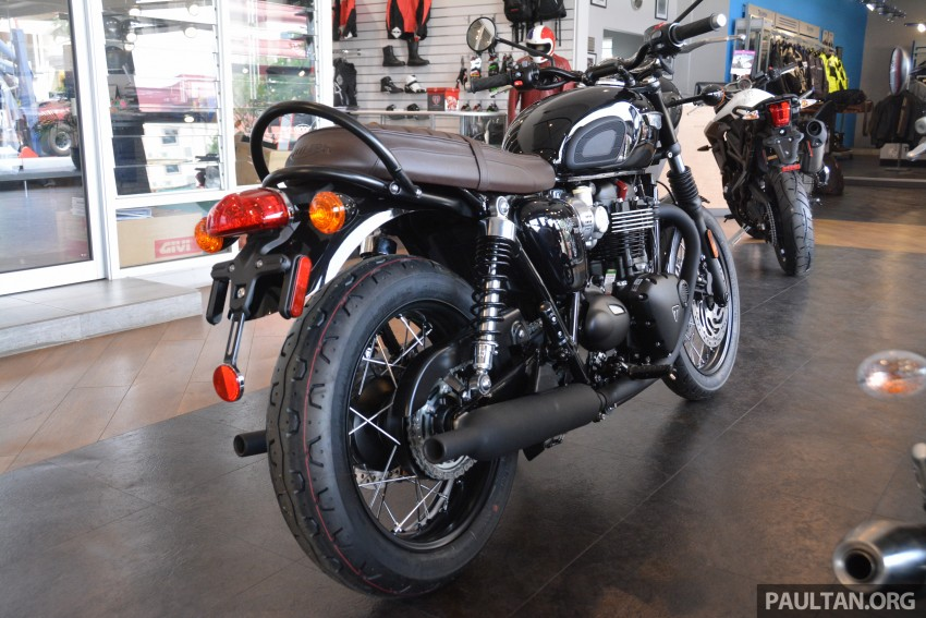 2016 Triumph Thruxton R (RM91,900) and Bonneville T120, T120 Black (RM79,900) arrive in Malaysia Image #474412
