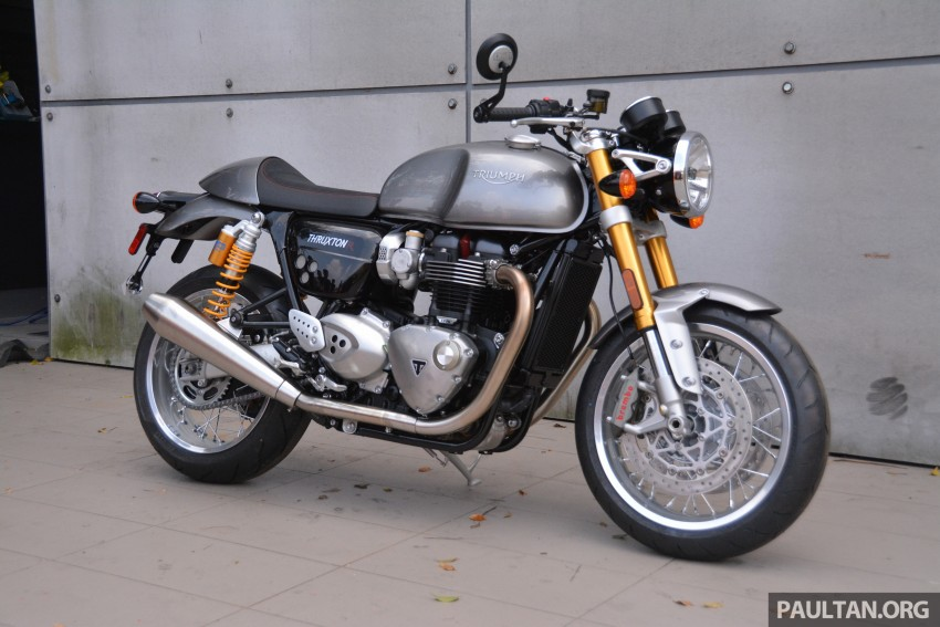 2016 Triumph Thruxton R (RM91,900) and Bonneville T120, T120 Black (RM79,900) arrive in Malaysia Image #474452