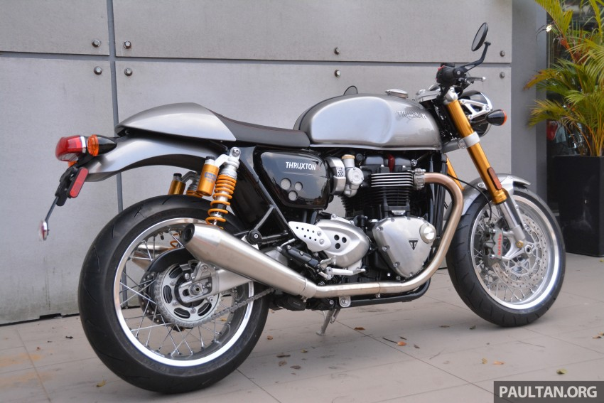 2016 Triumph Thruxton R (RM91,900) and Bonneville T120, T120 Black (RM79,900) arrive in Malaysia Image #474453