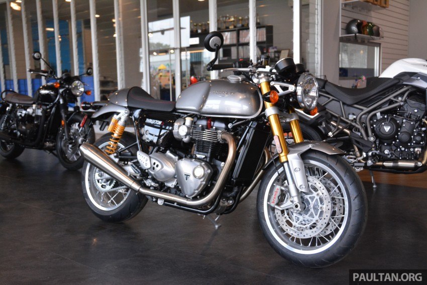 2016 Triumph Thruxton R (RM91,900) and Bonneville T120, T120 Black (RM79,900) arrive in Malaysia Image #474454