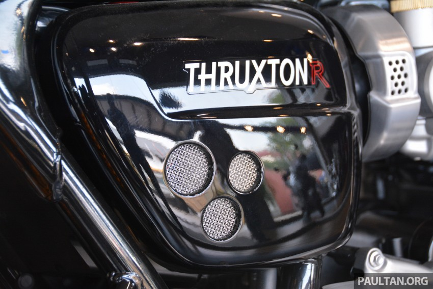 2016 Triumph Thruxton R (RM91,900) and Bonneville T120, T120 Black (RM79,900) arrive in Malaysia Image #474460