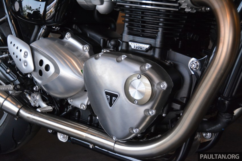 2016 Triumph Thruxton R (RM91,900) and Bonneville T120, T120 Black (RM79,900) arrive in Malaysia Image #474469