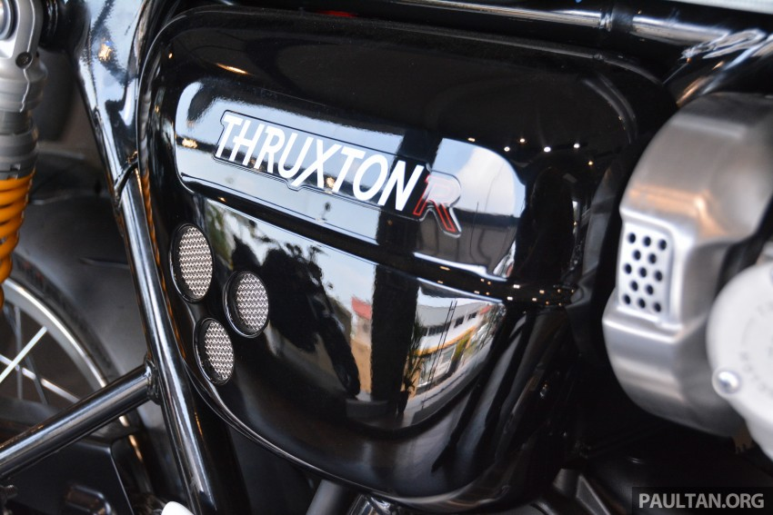 2016 Triumph Thruxton R (RM91,900) and Bonneville T120, T120 Black (RM79,900) arrive in Malaysia Image #474470