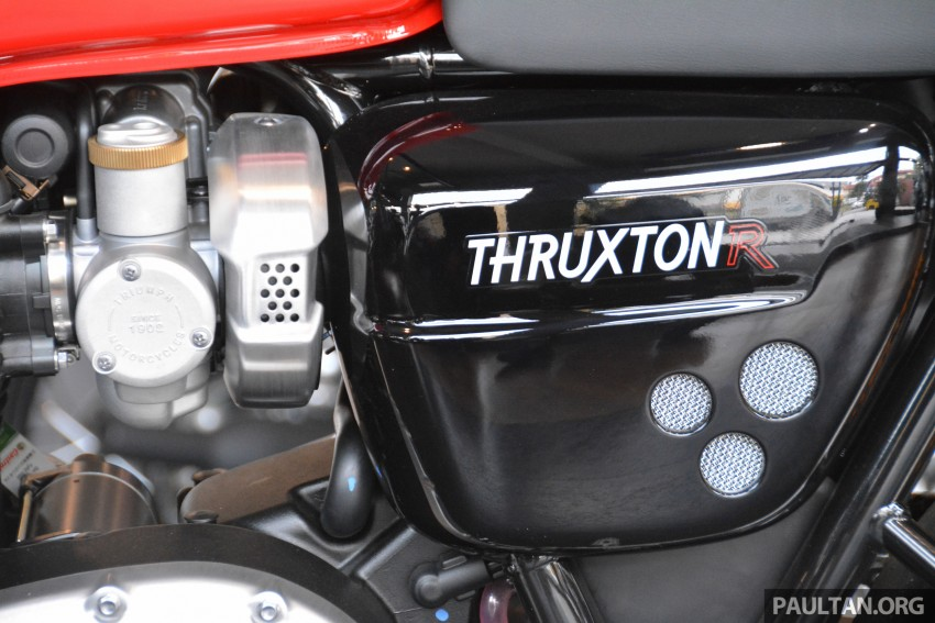2016 Triumph Thruxton R (RM91,900) and Bonneville T120, T120 Black (RM79,900) arrive in Malaysia Image #474426