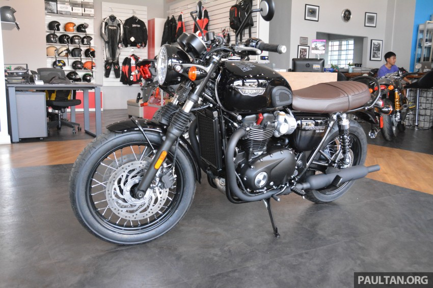 2016 Triumph Thruxton R (RM91,900) and Bonneville T120, T120 Black (RM79,900) arrive in Malaysia Image #474430
