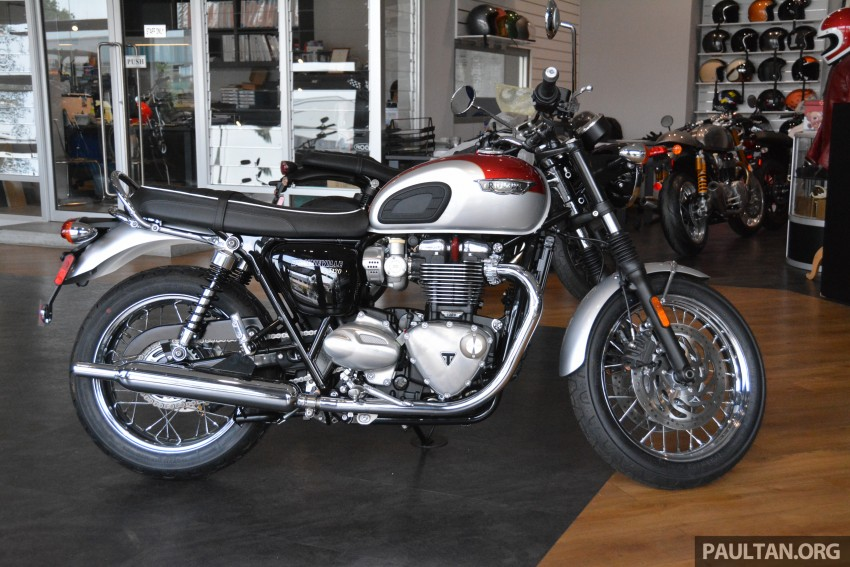 2016 Triumph Thruxton R (RM91,900) and Bonneville T120, T120 Black (RM79,900) arrive in Malaysia Image #474432