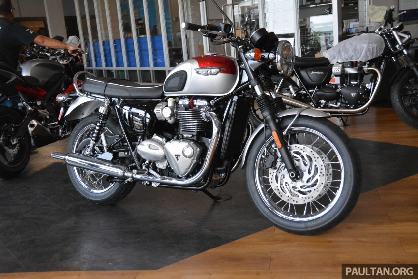 2016 Triumph Thruxton R (RM91,900) and Bonneville T120, T120 Black (RM79,900) arrive in Malaysia Image #474433