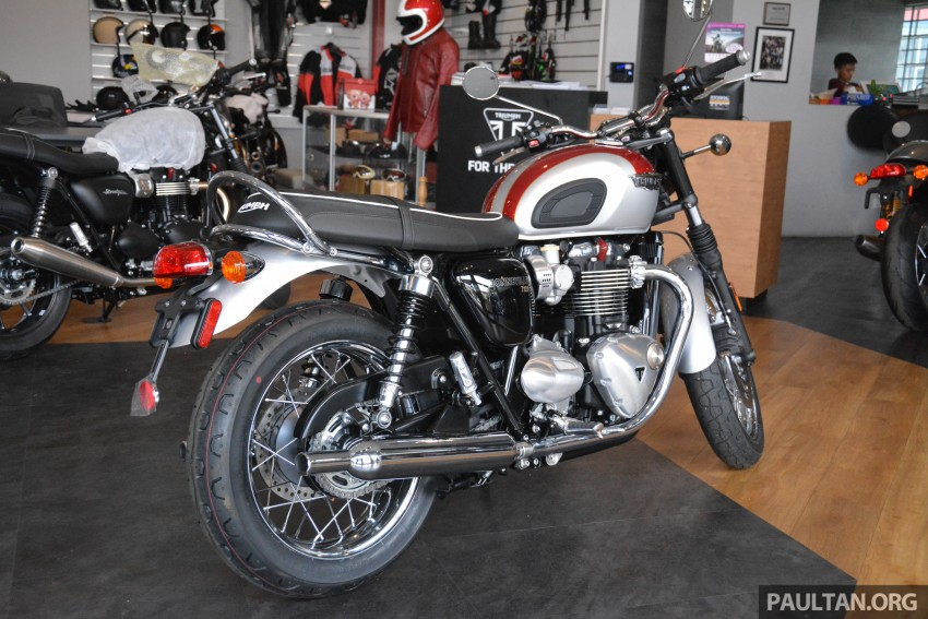 2016 Triumph Thruxton R (RM91,900) and Bonneville T120, T120 Black (RM79,900) arrive in Malaysia Image #474434