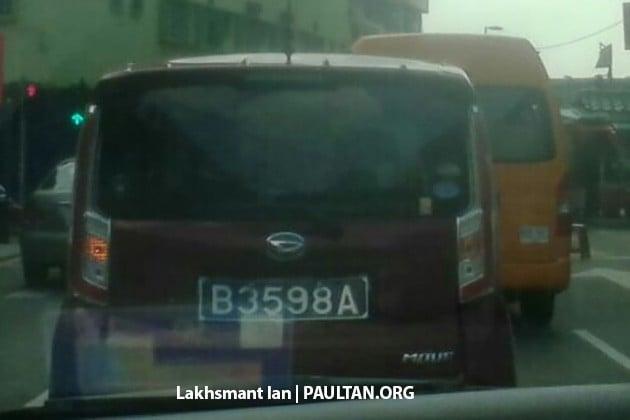 perodua new release carSPIED Daihatsu Move in Msia  new Perodua Kenari