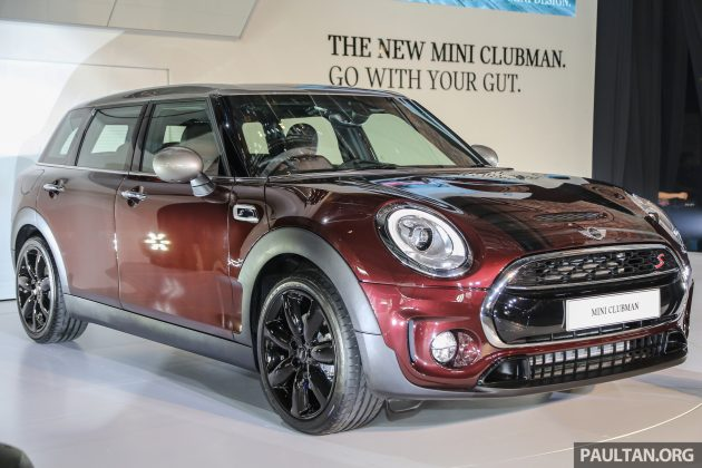 F54 Mini Clubman Launched In Malaysia Six Doors 136 Hp Cooper And