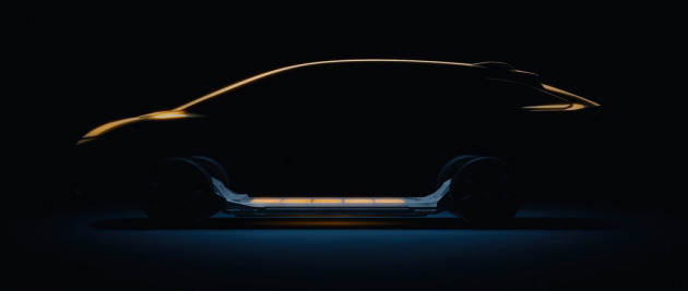 Faraday Future SUV teaser