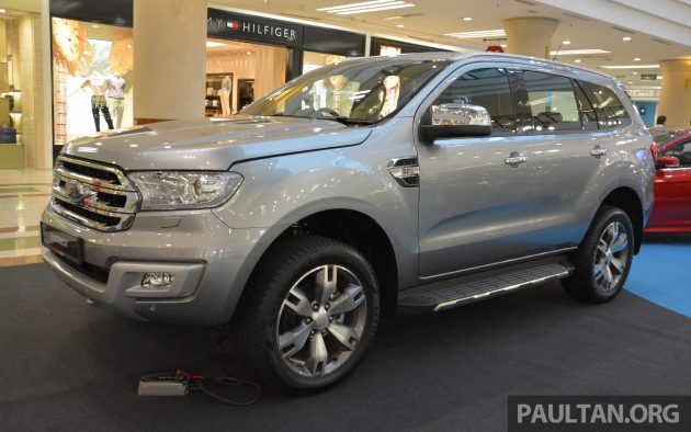 Ford Everest 3.2 Titanium preview-5