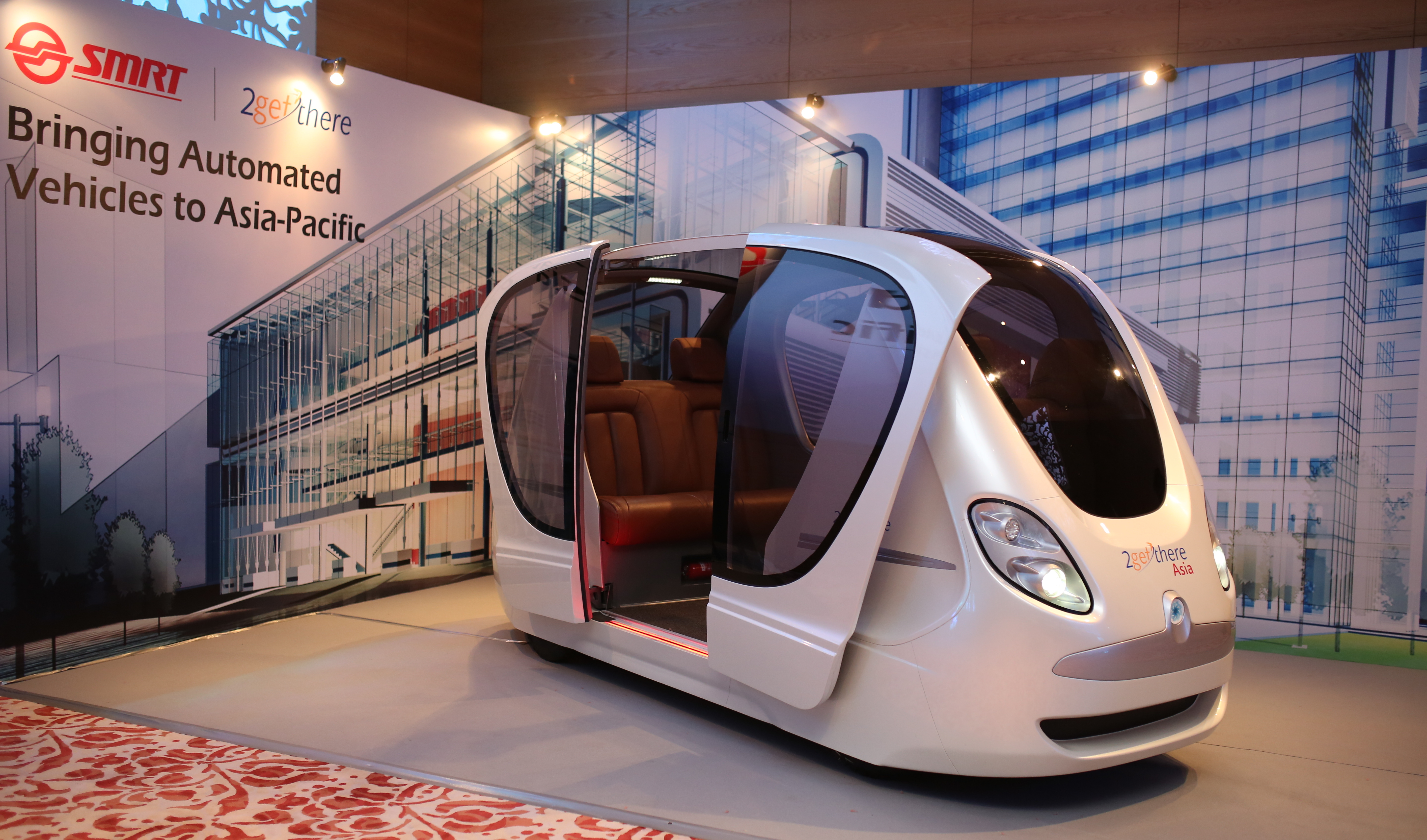 Singapore SMRT to introduce driverless public transport by ...