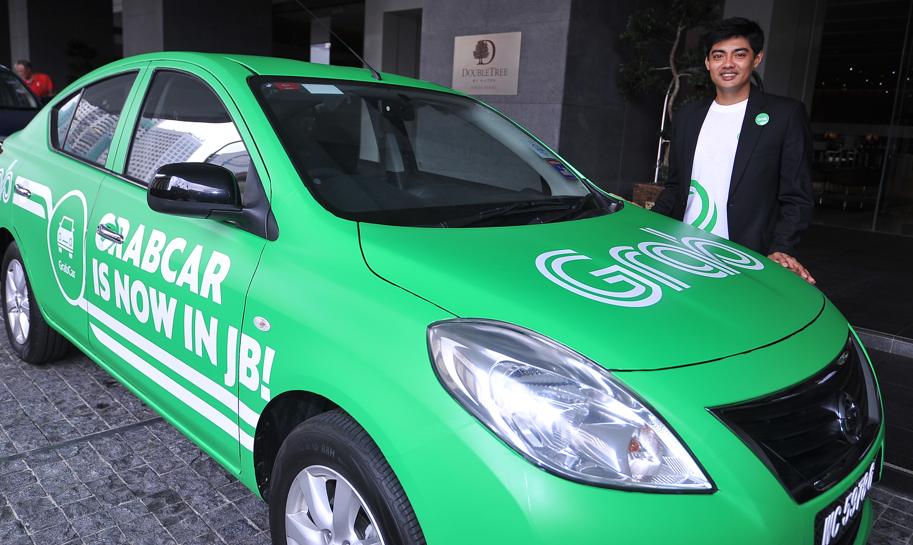 Affordable Car Insurance >> GrabCar services available in Johor Bahru on April 7