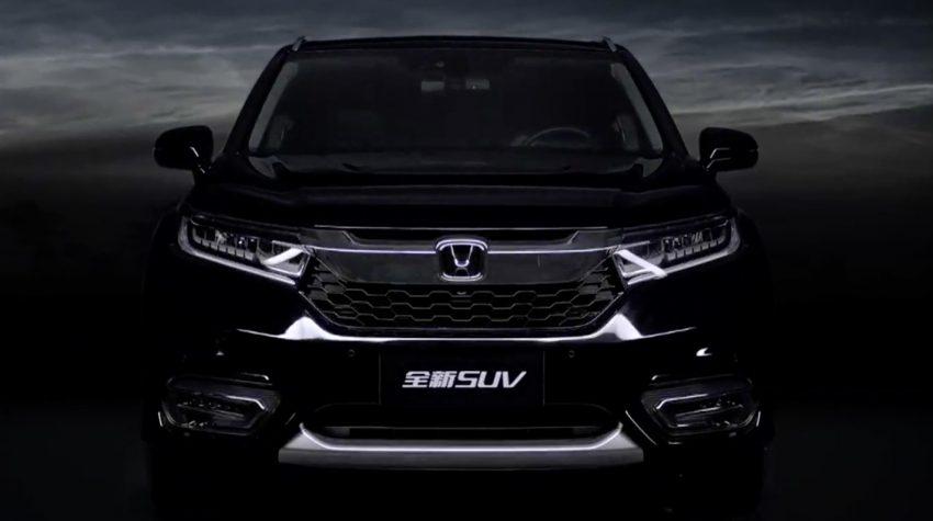 Honda Avancier SUV launched in China – 2.0T, 9AT Image #482700
