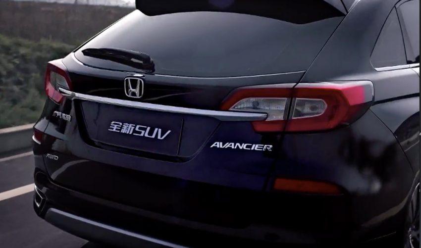Honda Avancier SUV launched in China – 2.0T, 9AT Image #482705