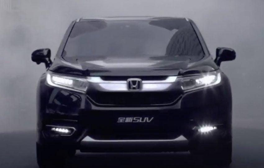 Honda Avancier SUV launched in China – 2.0T, 9AT Image #482707