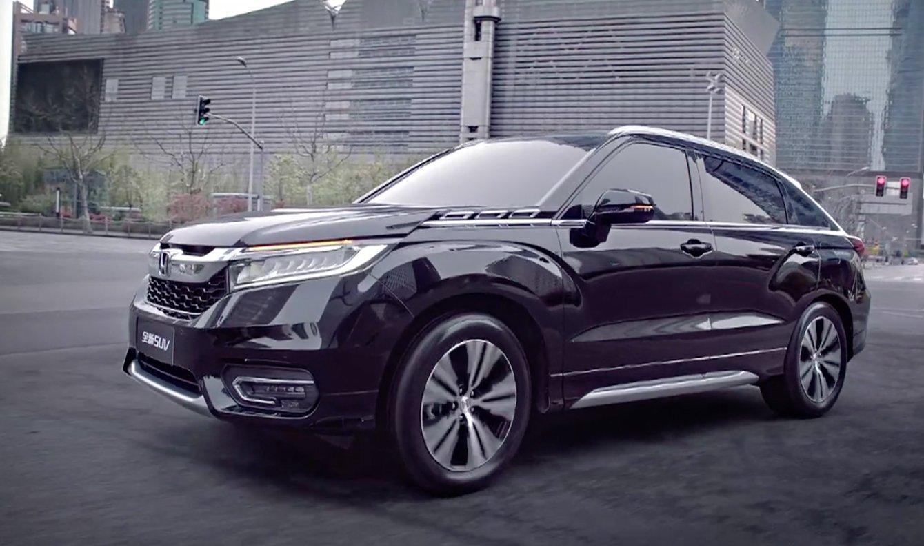 Honda Avancier Suv Dilancarkan Di China 2 0t 9at Image