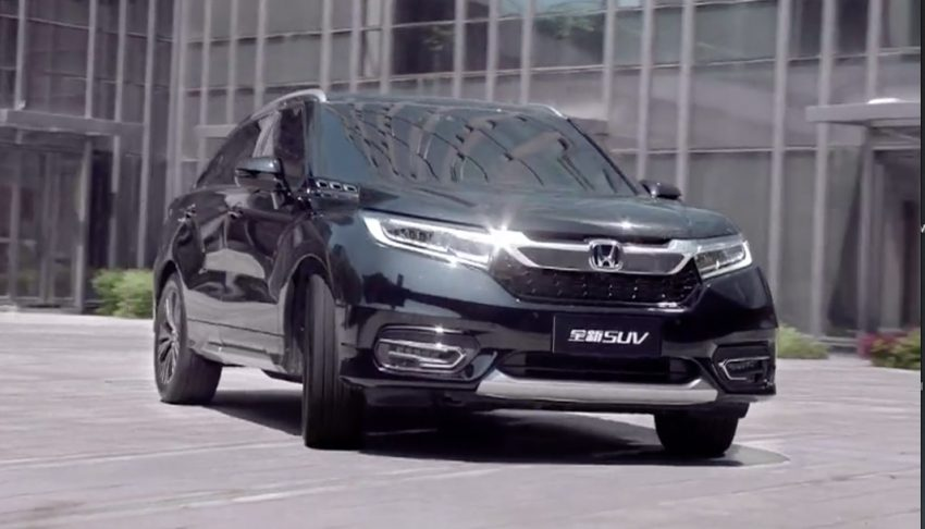 Honda Avancier SUV launched in China – 2.0T, 9AT Image #482717