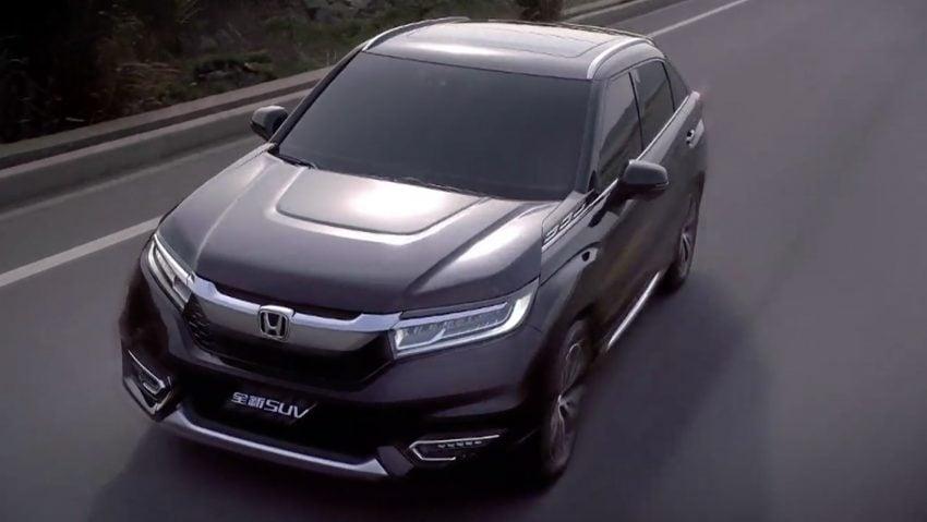 Honda Avancier SUV dilancarkan di China – 2.0T, 9AT Image #483072