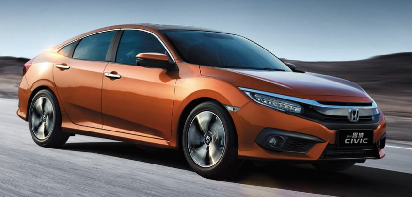 Honda Civic launched in China with 1.5 litre turbo mill Image #477113