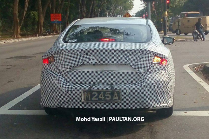 SPIED: 2016 Honda Civic 1.5 Turbo tested in Melaka Image #479460