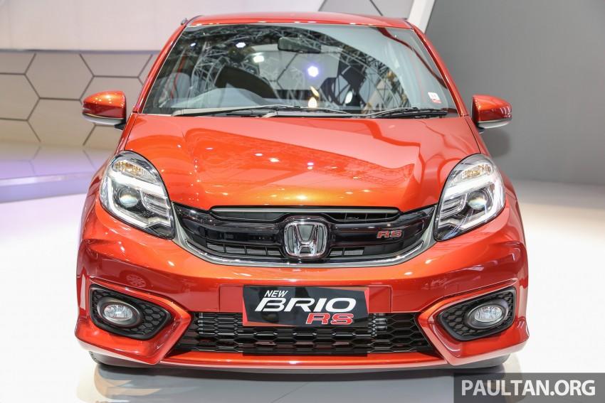 IIMS 2016: Honda Brio Satya facelift, tampil varian RS Image #473493