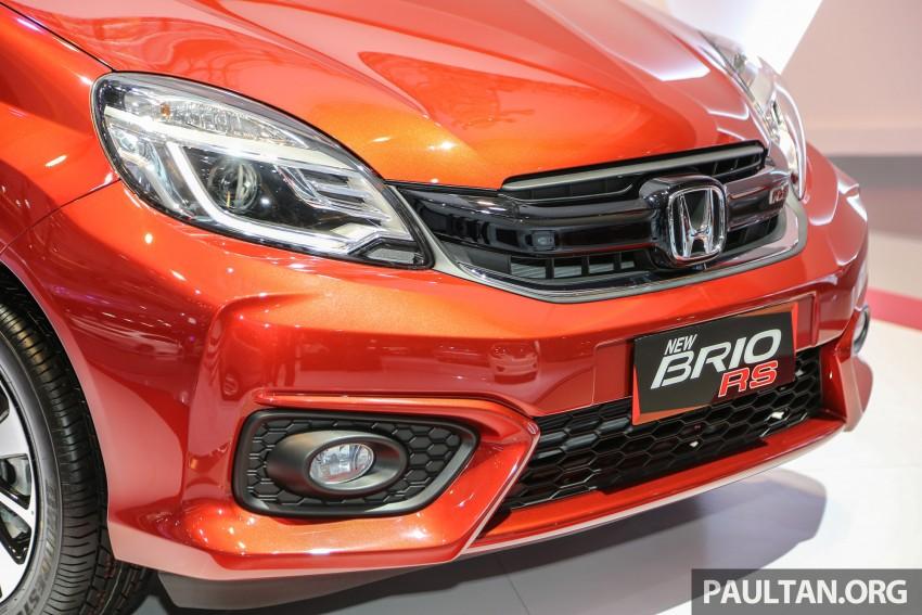 IIMS 2016: Honda Brio Satya facelift, new RS variant Image #473194
