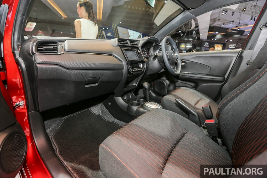 IIMS 2016: Honda Brio Satya facelift, new RS variant Image #473418