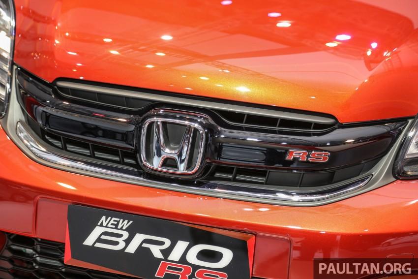 IIMS 2016: Honda Brio Satya facelift, new RS variant Image #473196