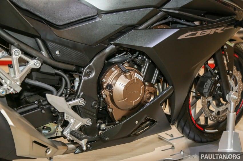 IIMS 2016: Honda CBR500R – entry-level middleweight Image #475969