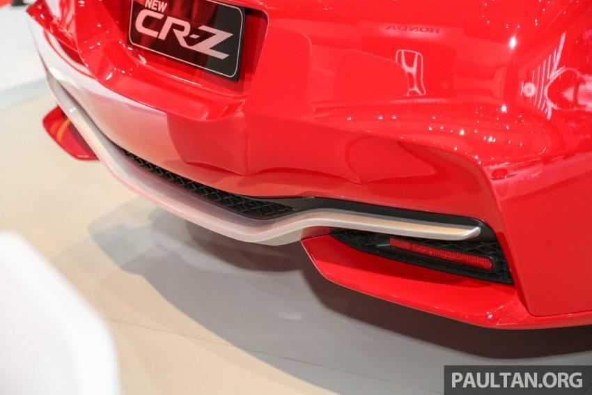 IIMS 2016: Honda CR-Z facelift – hybrid coupe lives on Image #473694