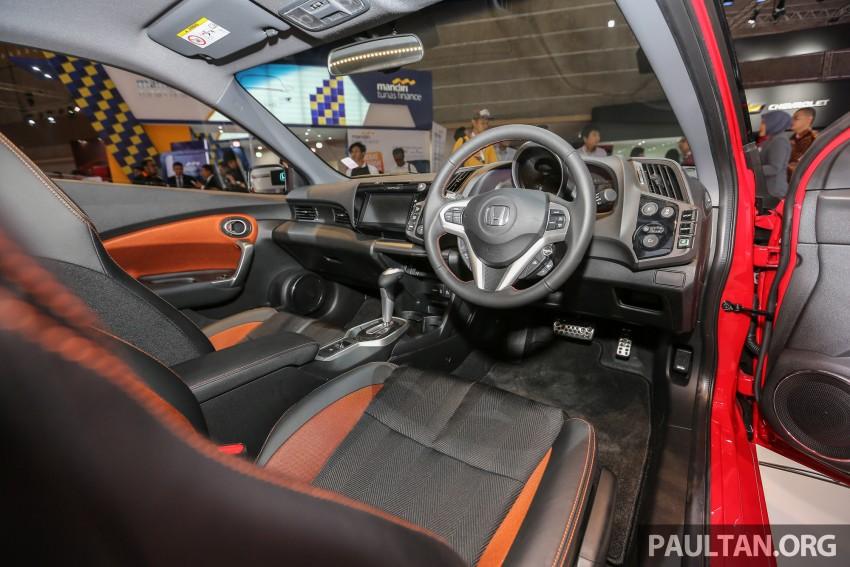IIMS 2016: Honda CR-Z facelift – hybrid coupe lives on Image #473696