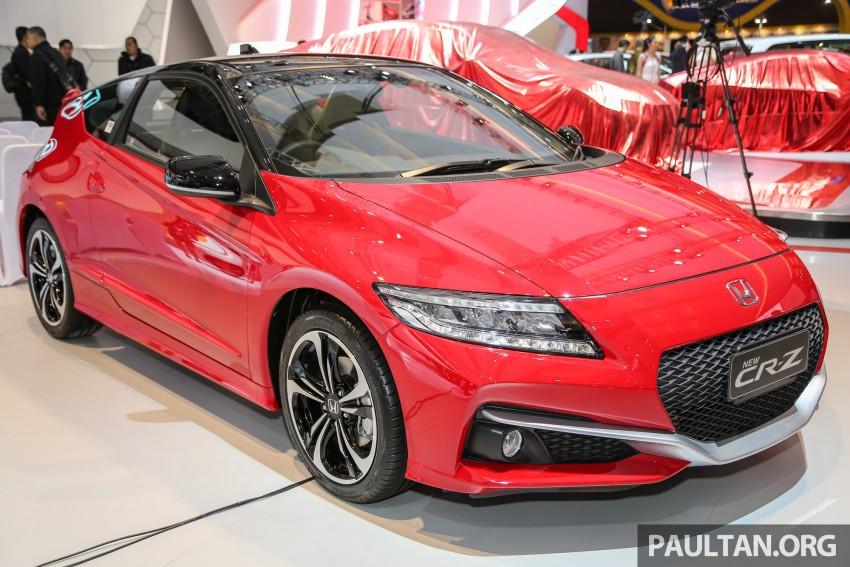 IIMS 2016: Honda CR-Z facelift – hybrid coupe lives on Image #473684
