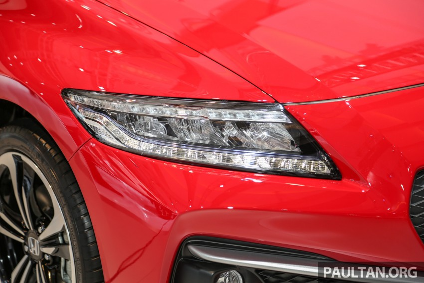 IIMS 2016: Honda CR-Z facelift – hybrid coupe lives on Image #473686