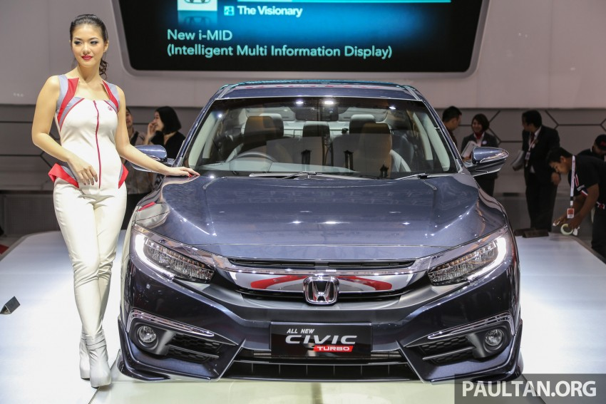 IIMS 2016: New Honda Civic launched, 1.5L Turbo only Image #473470