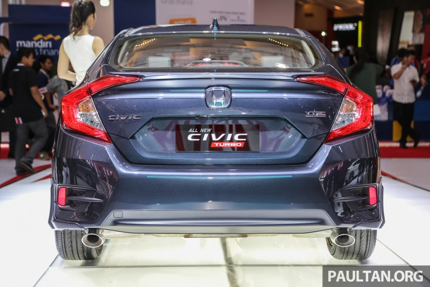 IIMS 2016: New Honda Civic launched, 1.5L Turbo only Image #473479