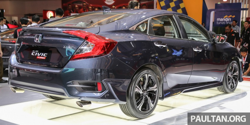 IIMS 2016: New Honda Civic launched, 1.5L Turbo only Image #473646
