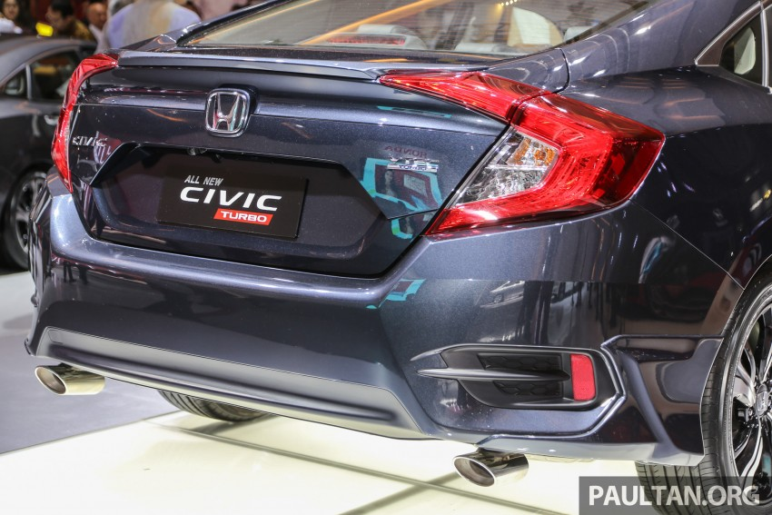 IIMS 2016: New Honda Civic launched, 1.5L Turbo only Image #473481