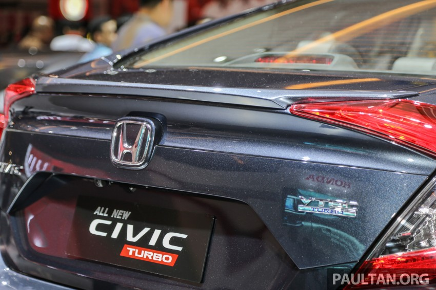 IIMS 2016: New Honda Civic launched, 1.5L Turbo only Image #473483