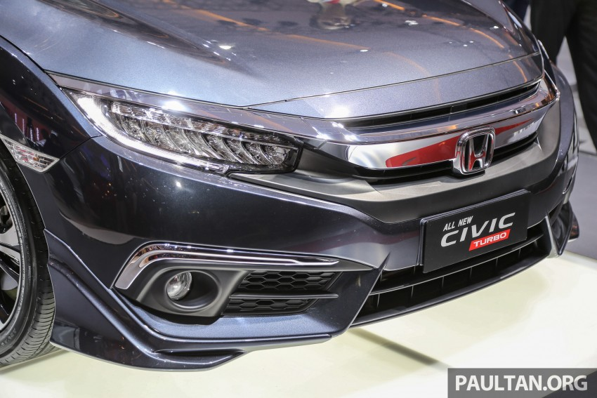 IIMS 2016: New Honda Civic launched, 1.5L Turbo only Image #473472